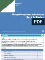 Change-Management Back to Basics Presentation
