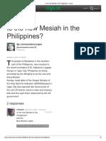 myLot - Messiah in Mindanao
