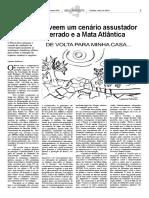 Estudos preveem um cenário assustador para o Cerrado e a Mata Atlântica - Ambiente - 2013