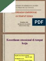 7.Kecerdasan Emosional Di Tempat Kerja