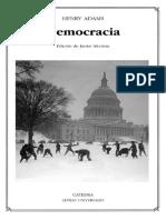Adams Henry - Democracia