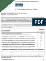 Deficiência de vitamina D não diagnosticada em paciente hospitalizado - Médico de família americano
