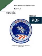 STS-51B Press Kit
