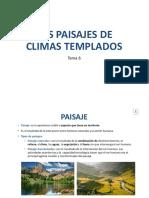 Tema 6. Los paisajes de climas templados-Sociales 1º ESO