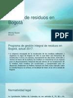 Manejo de residuos en Bogotá.pptx