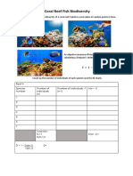Coral Reef Fish Worksheet