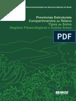 MACROCARACTERIZAÇÃO DOS RECURSOS NATURAIS DO BRASIL IBGE