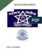 Project on Mumbai Police