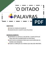 AUTO DITADO DE PALAVRAS