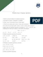 Relación Polinomios
