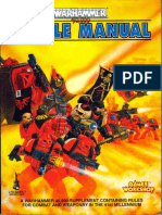 WarHammer 40k Battle Manual (1992 1st Ed)