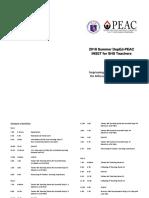 SHS 2018 Summer INSET Program Final in PDF