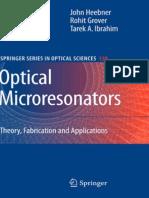 Optical Microresonators Theory.pdf