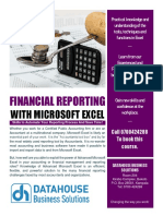 Financial Reporting Brochure