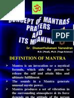 Concept of Mantras