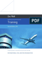 Doc 9868 - Procedures for Air Navigation Services Training Second Edition 2016