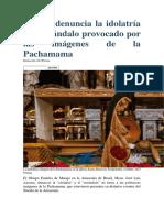 Obispo denuncia la idolatría y el escándalo provocado por las imágenes de la Pachamama.docx
