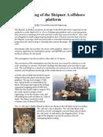 O naufrágio da plataforma