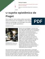 o-sujeito-epistemico-de-piagetpdf