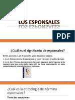2. Los Esponsales