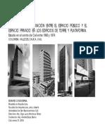 Planta Urbana - Mediación - Edward Conde