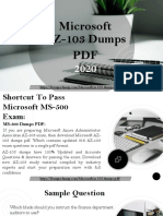 Download AZ-103 Dumps PDF with Verified AZ-103 Exam Questions