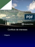 Farmacología Perioperatoria