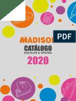 CATALOGO MADISON 2020
