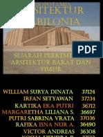 ARSITEKTUR BABILONIA