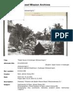 B-30.61.096  Type  Reference B-30.61.096 Title Dajak house in Kudangan (Kotawaringin). Author Baier, Johann Georg (Mr) Date 1924