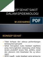 Konsep Sehat Sakit Dlm Epid