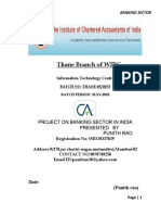 Project on Banking Sector in India