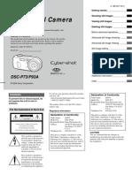 Sony cybershot- DSC-P73