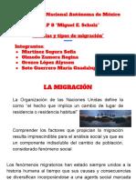 Teorías y tipo de migración