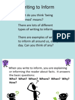 Writing to inform.ppt