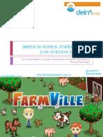 IMPLICACIONES JURÍDICAS DE LOS JUEGOS EN LINEA