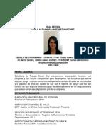 HOJA DE VIDA LESLY MARTINEZ