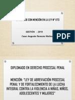 DIPLOMADO LEY N° 1173 - PENAL Y PROCESAL MODULO I.ppt