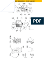 Telehandler - TH220 - Etiquetas de Advertencia