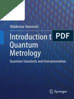Introduction to Quantum Metrology by Waldemar Nawrocki (2015)