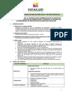 BASES DEL PROCESO DE SELECCIÓN CAS Nº 187 (2)