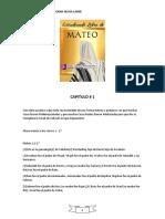 ESTUDIANDO LIBRO DE MATEO