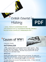 Crash Course in History – WW1 onwards.pptx
