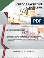 CURSO PRÁCTICO DE ALBAÑILERIA