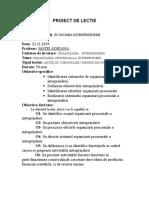 Proiect de Lectie - Economia Intreprinderii.doc GRAD ORGANIZARE PROCESUALA