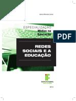 Esp Mídias na Educação - Redes Sociais e a Educação - MIOLO (1)