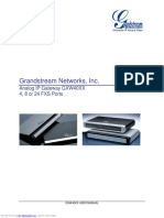 Gxw4004 User Manual