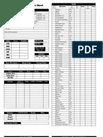 BESM Character Sheet
