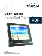 Homesurf Tablet 8 IFU en EU 100924