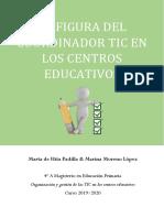 2. La Figura Del Coordinador Tic. Marta de Hita y Marina Moreno 4ºa